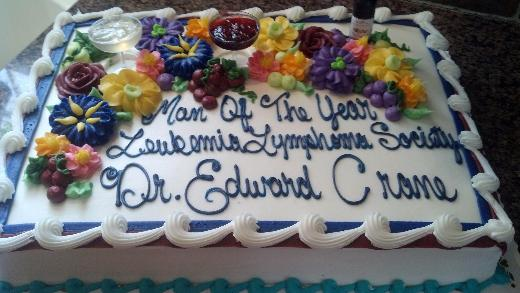 OHC Ed Crane Man of Year Cake