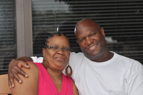 OHC Patient Darlene Cookie Jones and husband Paul Jones