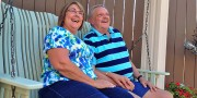 OHC Patient Dick Mauntel with his wife Debbie,
