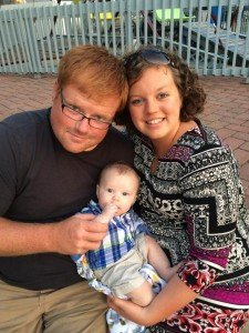 Amanda Janzen Today with Husband and Child - OHC