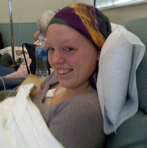 Amanda Receiving Chemotherapy - OHC