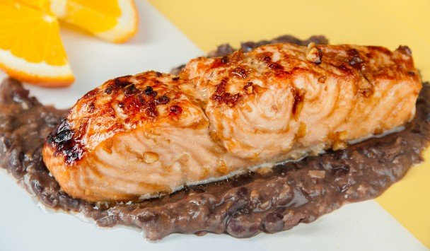 Cancer Fighting Recipe Salmon Black Bean Sauce OHC AICR Cancer Care Treatment