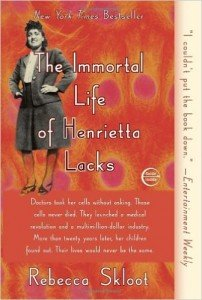 The Immortal Life of Henrietta Lacks OHC book