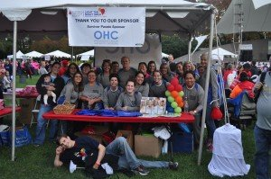 OHC employees, friends, and family enjoying their time together for a great cause.