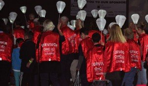 OHC Sponsors Survivor Parade Red Capes