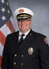 Jon Frye, district chief, Loveland-Symmes Fire Department