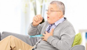 OHC November Lung Cancer Month Man Coughing