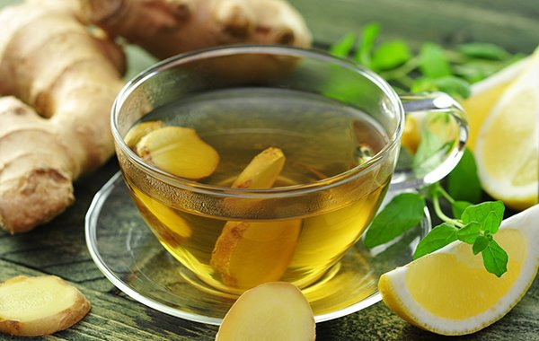 Herbal Ginger Tea Recipe Heals and Warms Through Holidays OHC