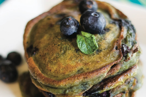 Blueberry Pankcake Recipe