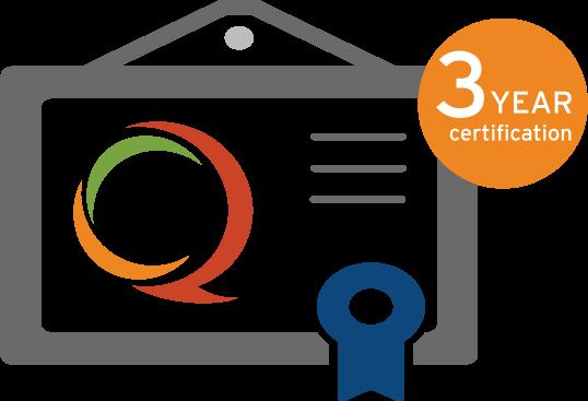 QOPI 3 Year Certification OHC