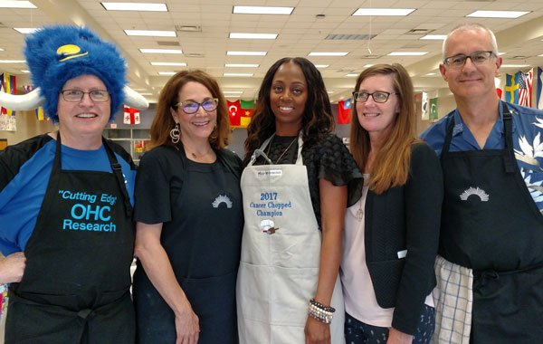 Cancer Survivor Wins Second Annual Cancer Chopped Champions Competition