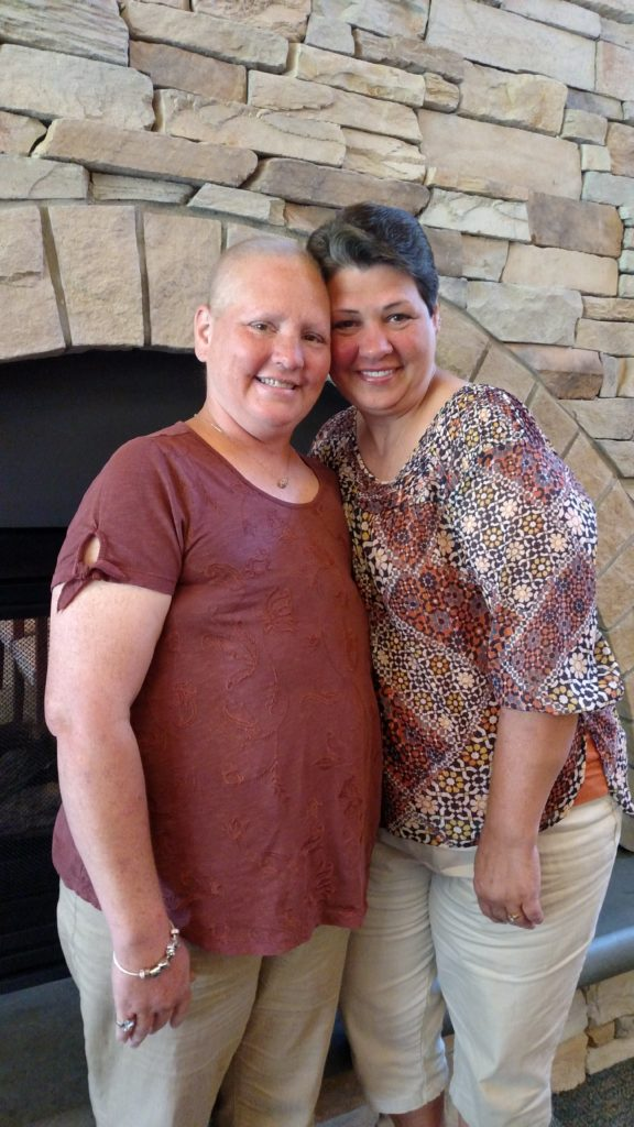 Cancer Journey Tonia Manning and Debbie Acton OHC patients