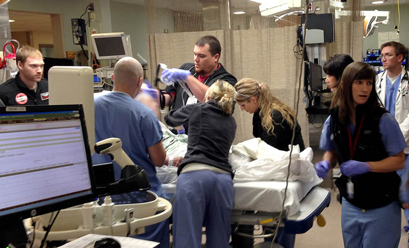 OHC doctor teaches ER residents how to respond to cancer issues