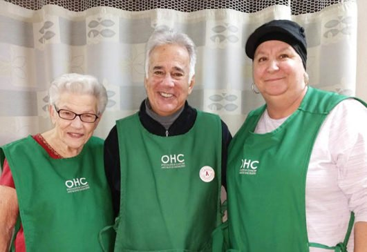 OHC Blue Ash volunteers