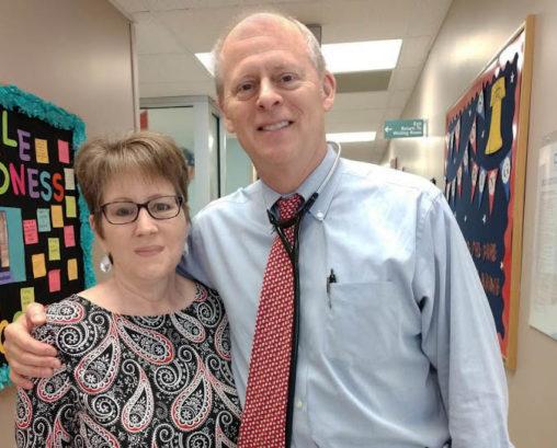 cancer survivor story James Essell and Christina Nauman