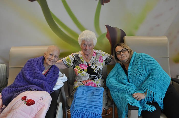 ohc cancer patients with shawls