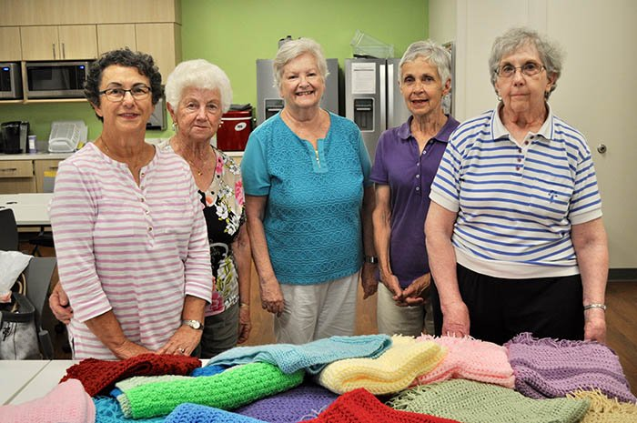 At OHC, a Shawl is More Than a Gift of Warmth for Patients