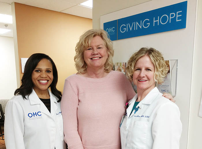 Patient Follows Through on a Hunch and Gets Expert Help From OHC for Cervical Cancer