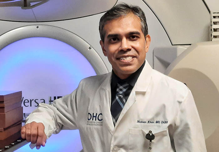 OHC Physicist Receives Prestigious Radiation Oncology Fellowship