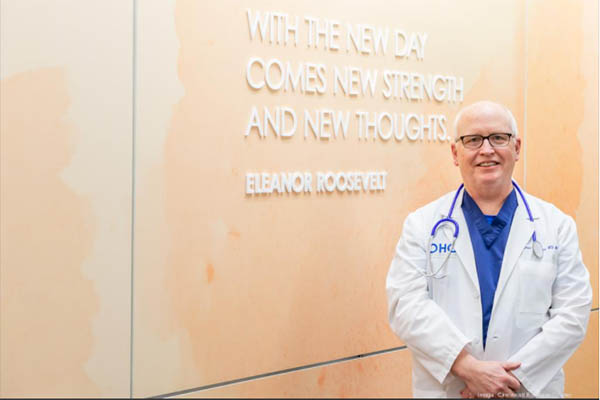 OHC's Waterhouse Feels Privileged to Share in Oncology Patients' Highs and Lows