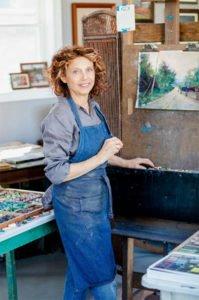 Marilee Klosterman painting