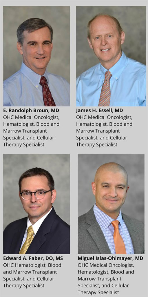 OHC cellular therapy specialists